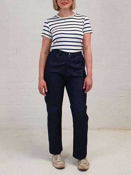 Plus size dad jeans