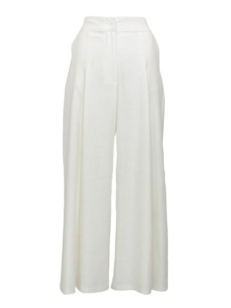 White linen pants women