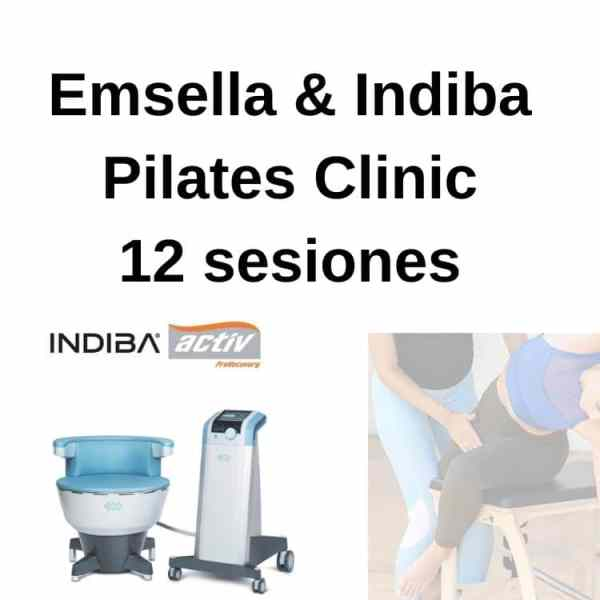 emsella indiba y pilates 12 sesiones