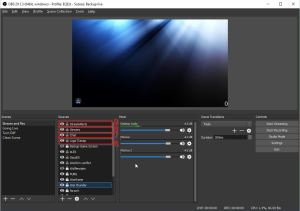Sources 2 for Twitch Stream Scenes for OBS - How to Use OBS Studio Software
