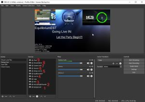 Sources 3 for Twitch Stream Scenes for OBS - How to Use OBS Studio Software