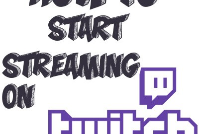 Example of Twitch - how to start Streaming icon