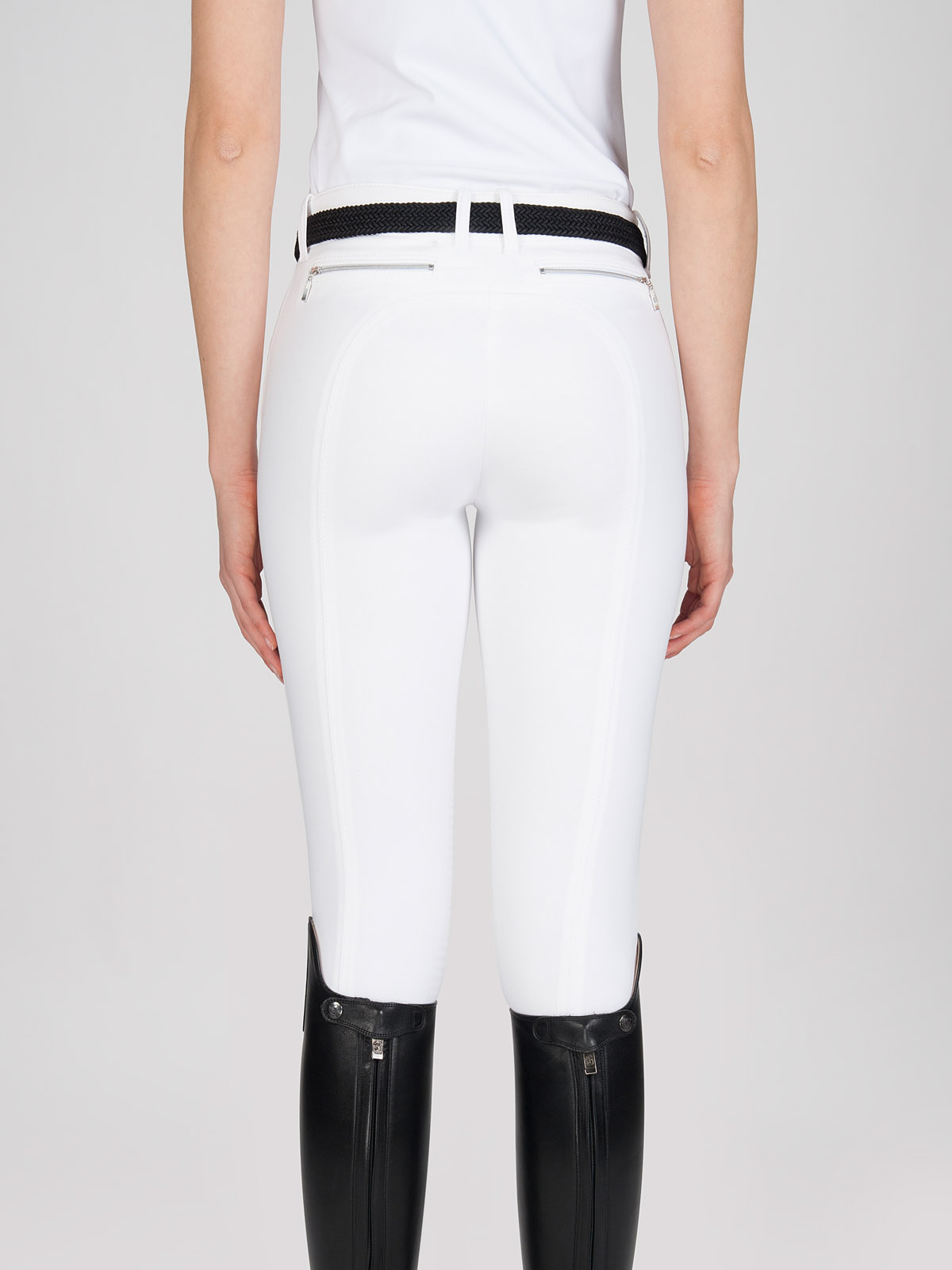 ASH Women's Riding Breeches with X-Grip Knee Patch 1