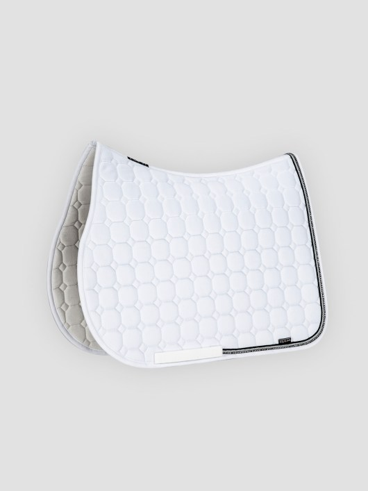 RIO - Octagon Saddle Pad with Rhinestone Piping 2