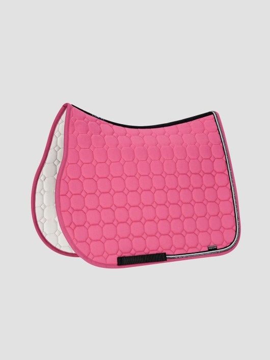 RIO - Octagon Saddle Pad with Rhinestone Piping 4
