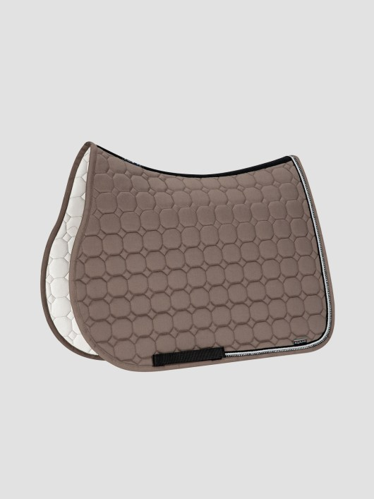 RIO - Octagon Saddle Pad with Rhinestone Piping 5