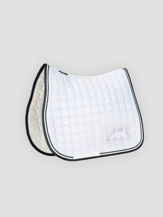 JOYCE - Octagon Saddle Pad with Equiline Logo and Studs 2