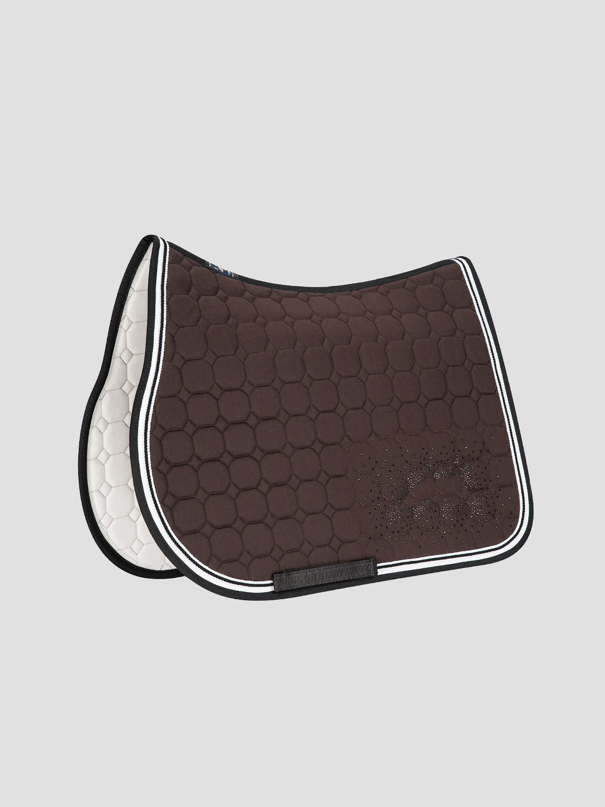 JOYCE - Octagon Saddle Pad with Equiline Logo and Studs 5