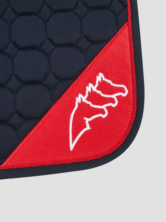 NADIR - Octagon Saddle Pad with Contrast Equiline Logo 2