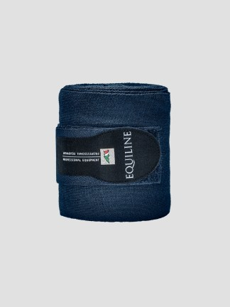 Equiline stable bandages in blue
