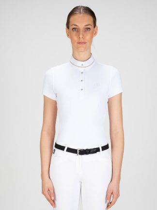 GRACE - Women's Show Shirt with Glam Details