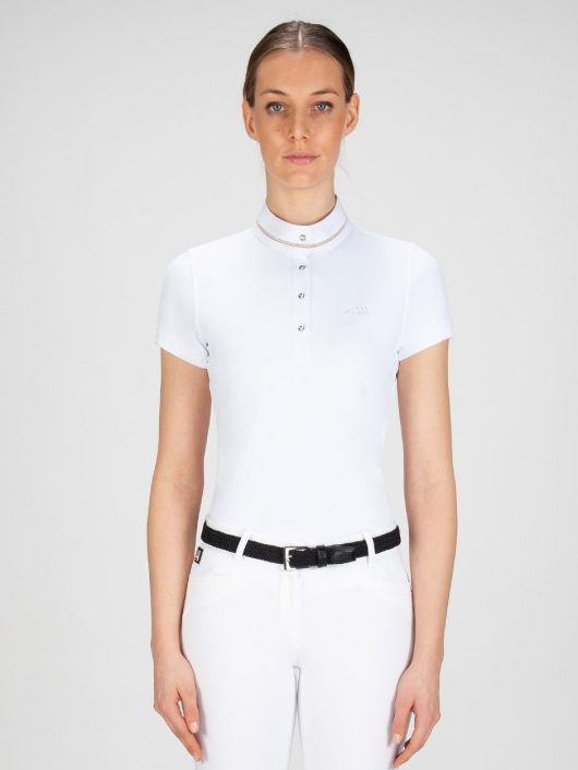 GRACE - Women's Show Shirt with Glam Details 1
