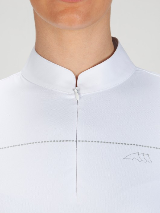 CATHERINE - Women's Show Shirt w/ Silver Detail 5