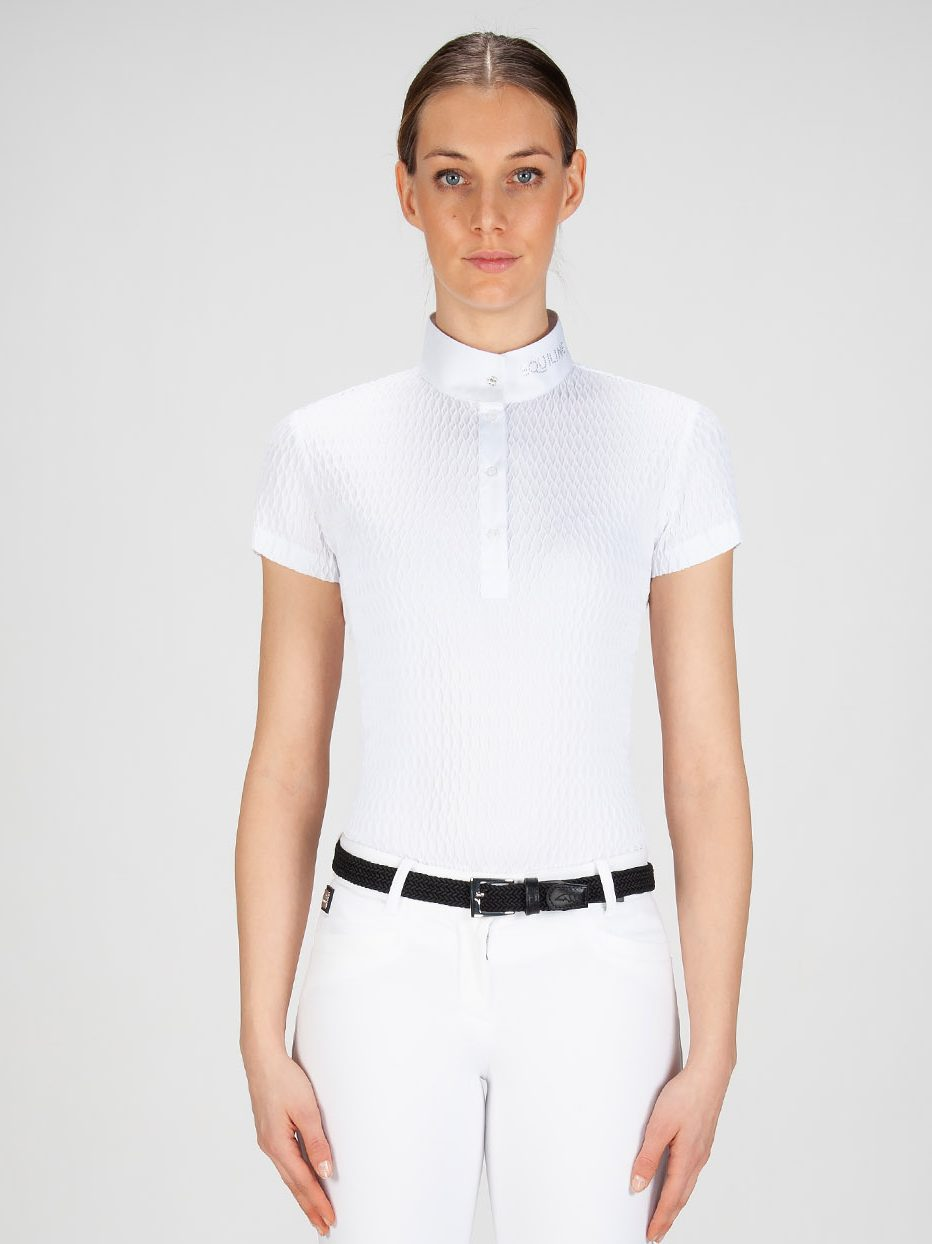 NEW ALISSA - Women's Show Shirt with Jewel 1