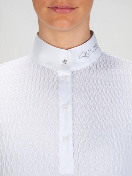 NEW ALISSA - Women's Show Shirt with Jewel 4