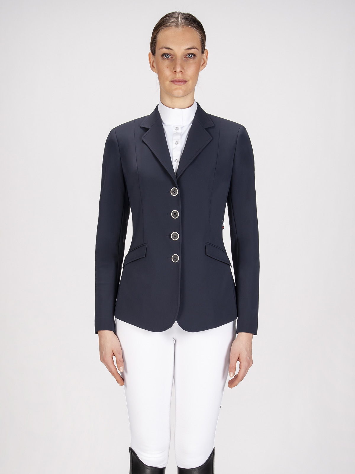 Gait women's show coat in X-Cool Evo performance fabric navy blue