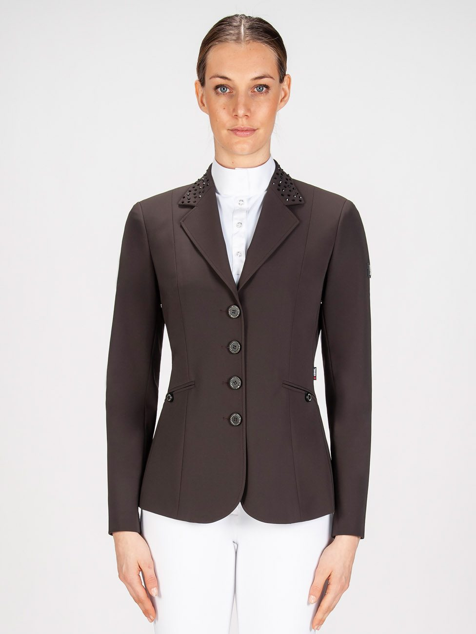 GIOIA - Women's Show Coat w/ Crystals 4