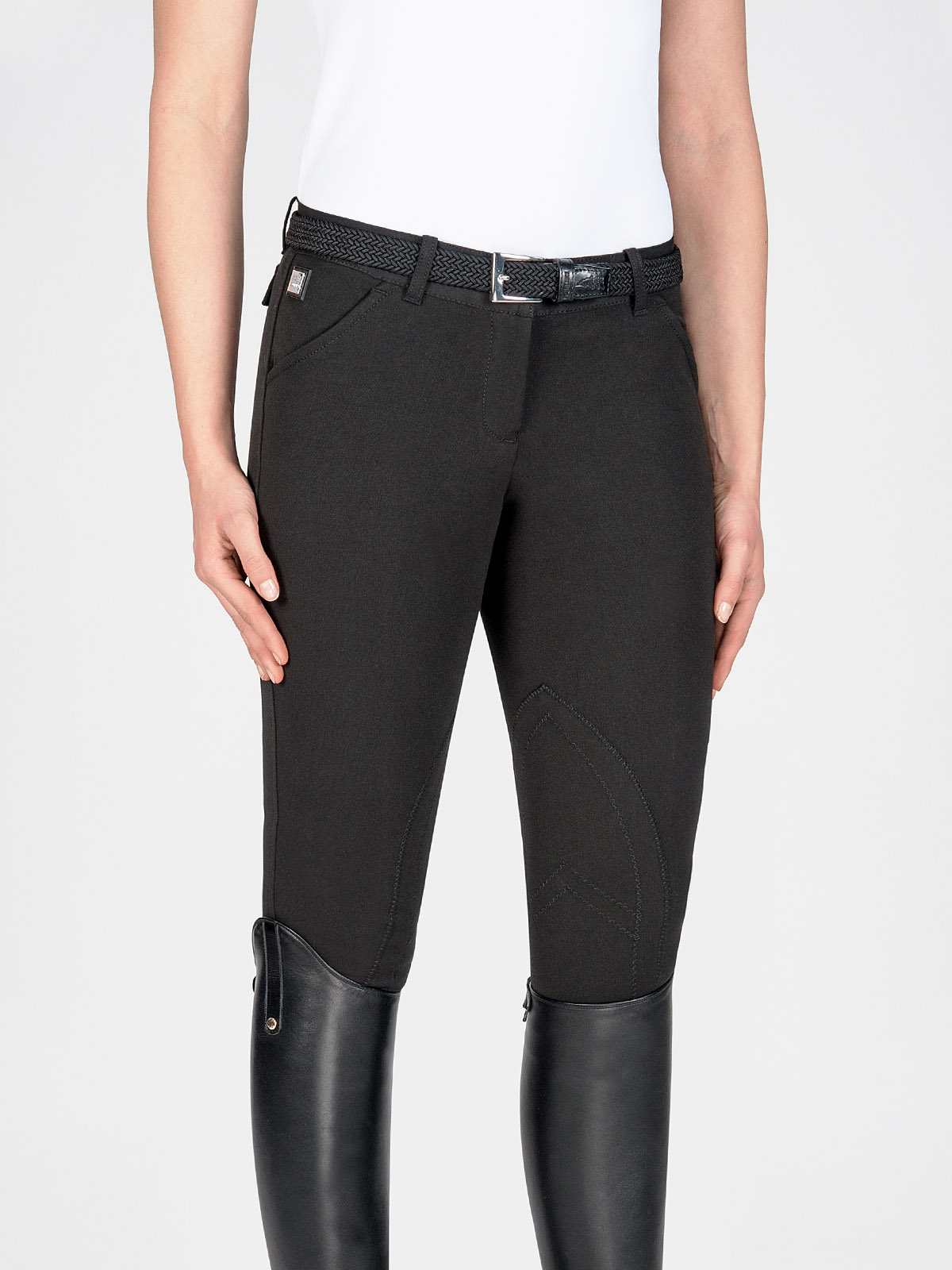 BOSTON - Women's Knee Patch Riding Breeches 3