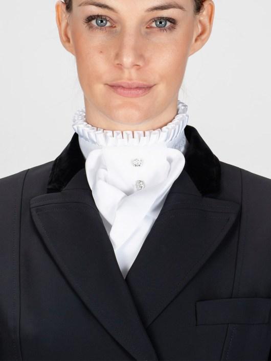 ADEL - Pleated Collar Stock Tie 2