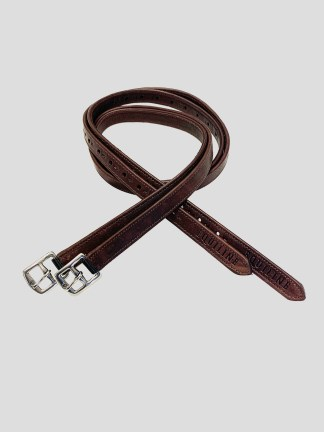 Equiline Lined Stirrup Leathers
