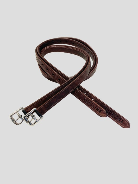 Equiline Lined Stirrup Leathers 1