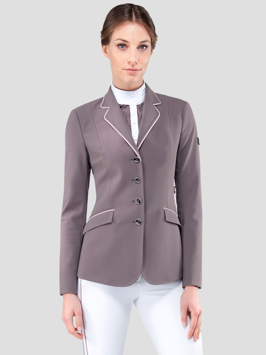 ELISSA WOMEN'S SHOW COAT IN X-COOL FABRIC WITH DOUBLE PIPING 2