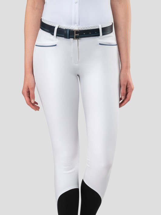 ESMERALDA WOMEN'S KNEE GRIP BREECHES WITH DOUBLE PIPING 5