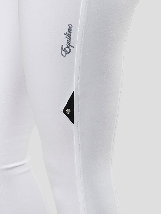 ESMERALDA WOMEN'S KNEE GRIP BREECHES WITH DOUBLE PIPING 8
