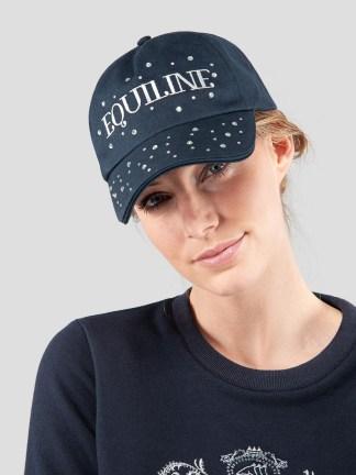GALATEA WOMEN'S BASEBALL CAP WITH STRASS