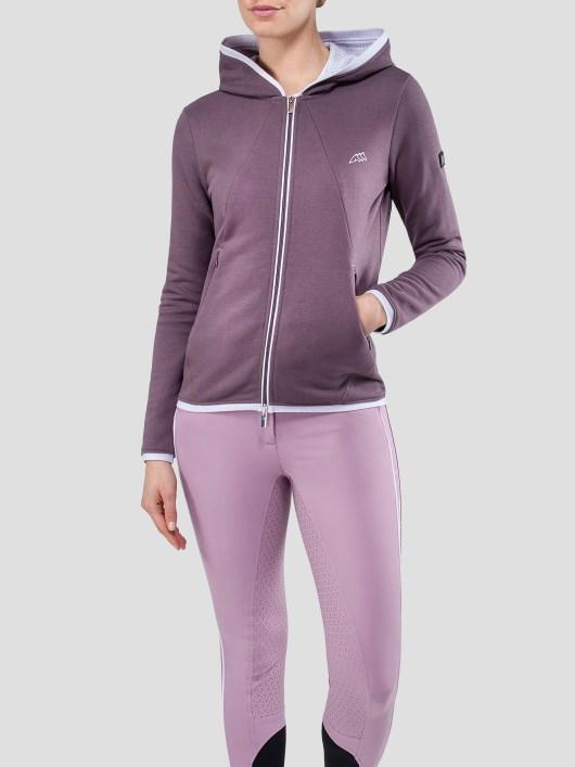 EQUILINE zip up hoodie sweatshirt