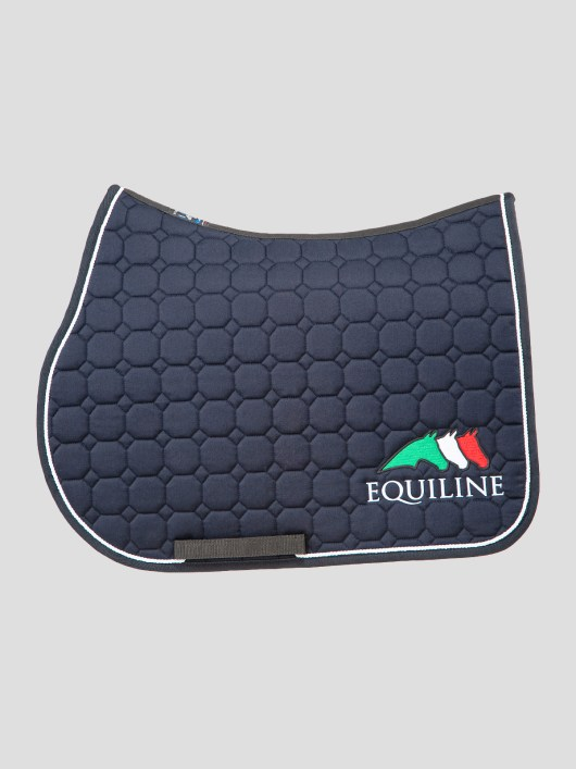 OCTAGON SADDLE PAD WITH EQUILINE LOGO 1