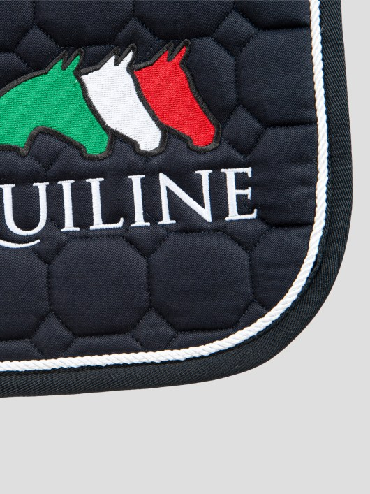 OCTAGON SADDLE PAD WITH EQUILINE LOGO 2