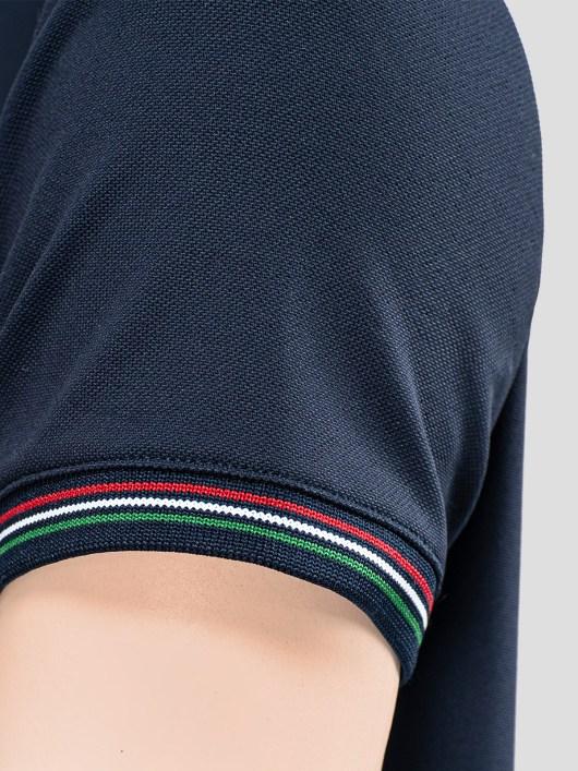 WOMEN'S TRAINING POLO SHIRT WITH ITALIAN FLAG TRIM 4