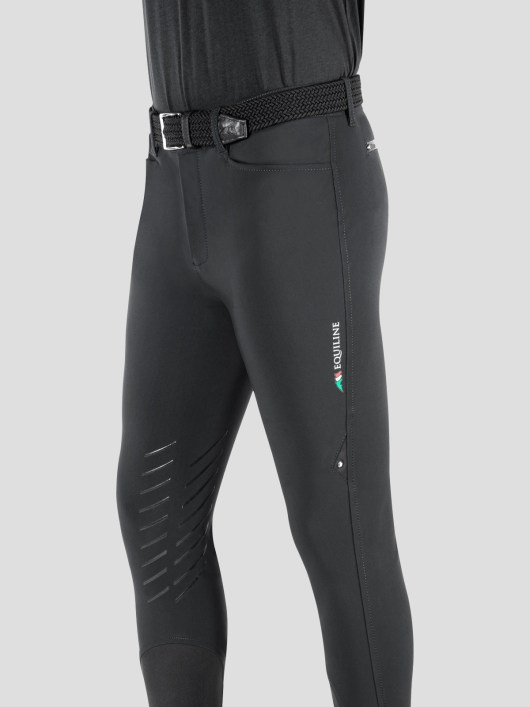 TEAM COLLECTION - MEN'S BREECHES WITH KNEE GRIP IN B-MOVE 1