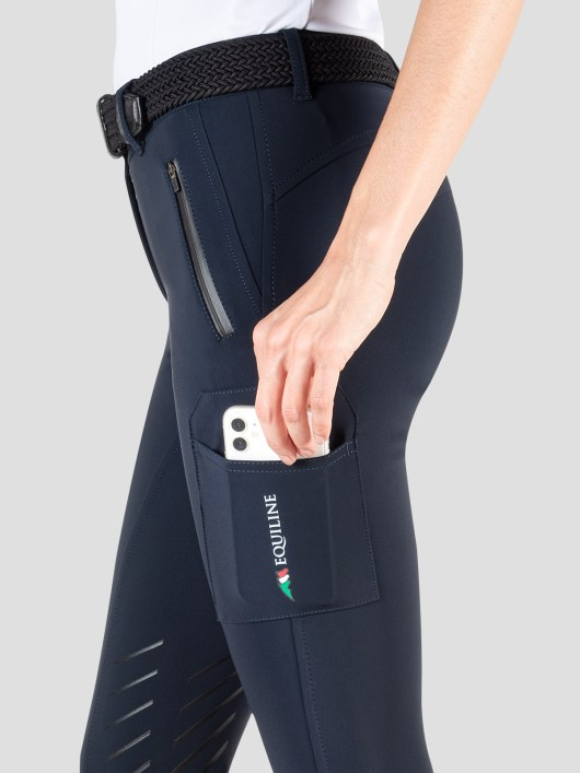 TEAM COLLECTION - WOMEN'S KNEE GRIP CARGO BREECHES IN B-MOVE #RIDERSTEAM 4