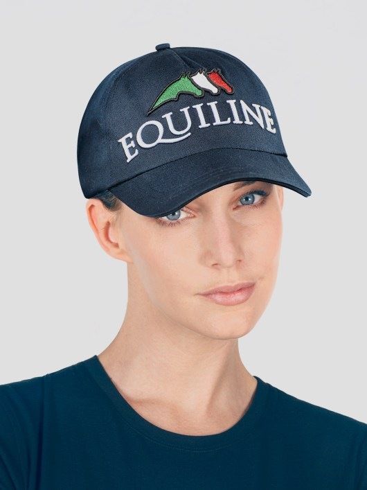 BALL CAP WITH TEAM EQUILINE LOGO 2