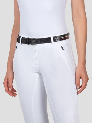 LEATHER BELT WITH