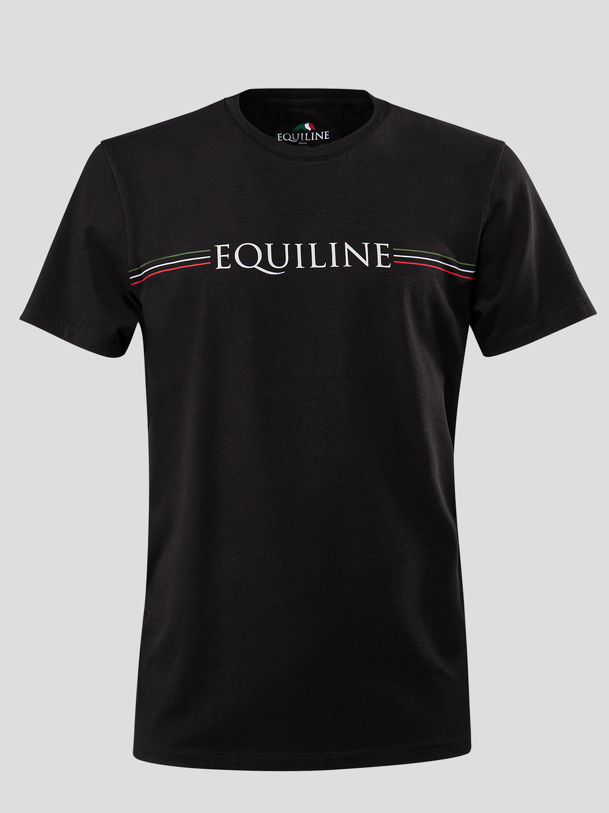 MEN'S T-SHIRT WITH EQUILINE STRIPE LOGO 1