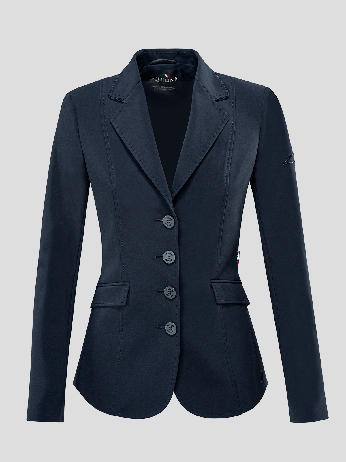 WOMEN'S SHOW JACKET WITH OUTLINE LOGO IN X-COOL 5