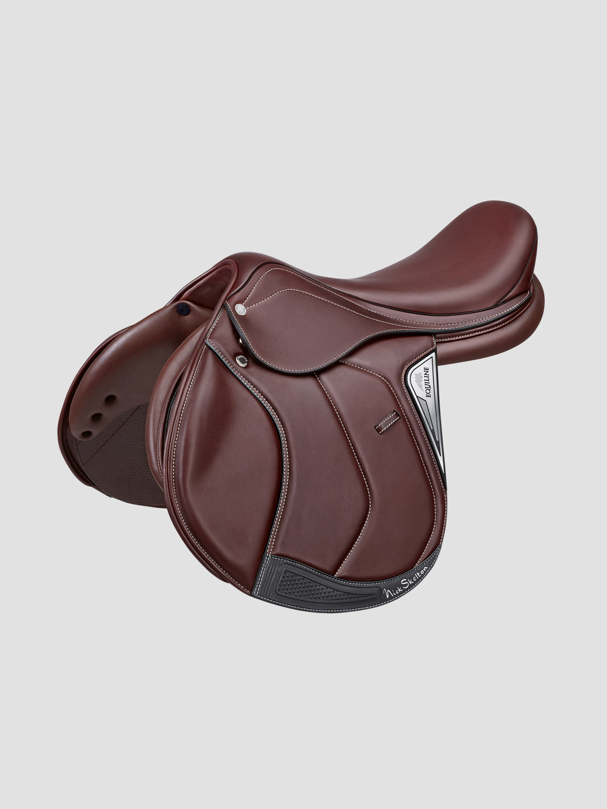 Equiline Nick skelton signature saddle in brown