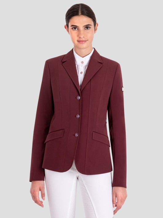 EVORA WOMEN'S X-COOL SHOW COAT WITH ENAMEL BUTTONS 1