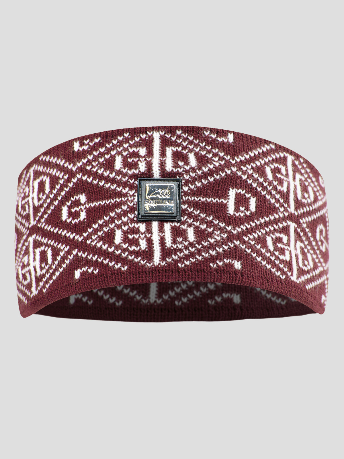 ELA KNIT HEADBAND WITH ALL OVER LOGO 2