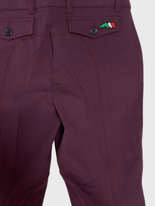 WOMEN'S KNEE PATCH BREECHES IN SCHOELLER STRETCH FABRIC 3