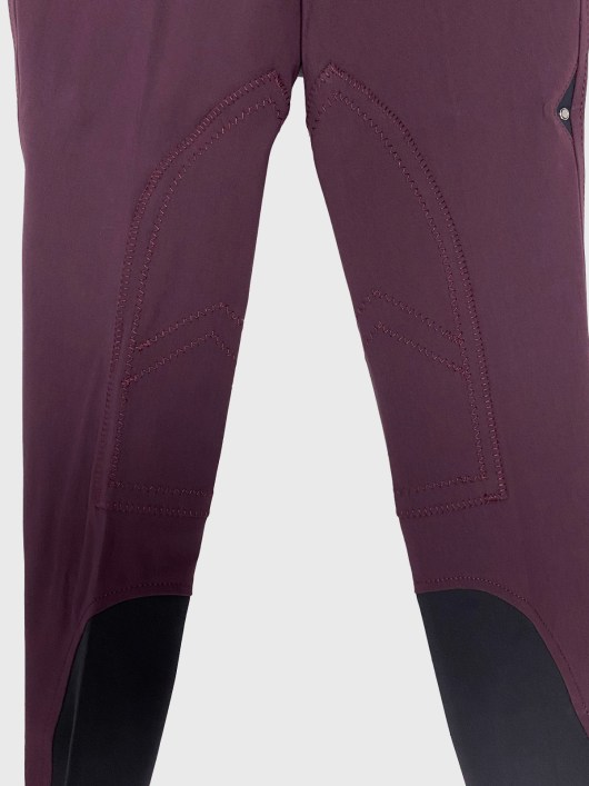 WOMEN'S KNEE PATCH BREECHES IN SCHOELLER STRETCH FABRIC 2