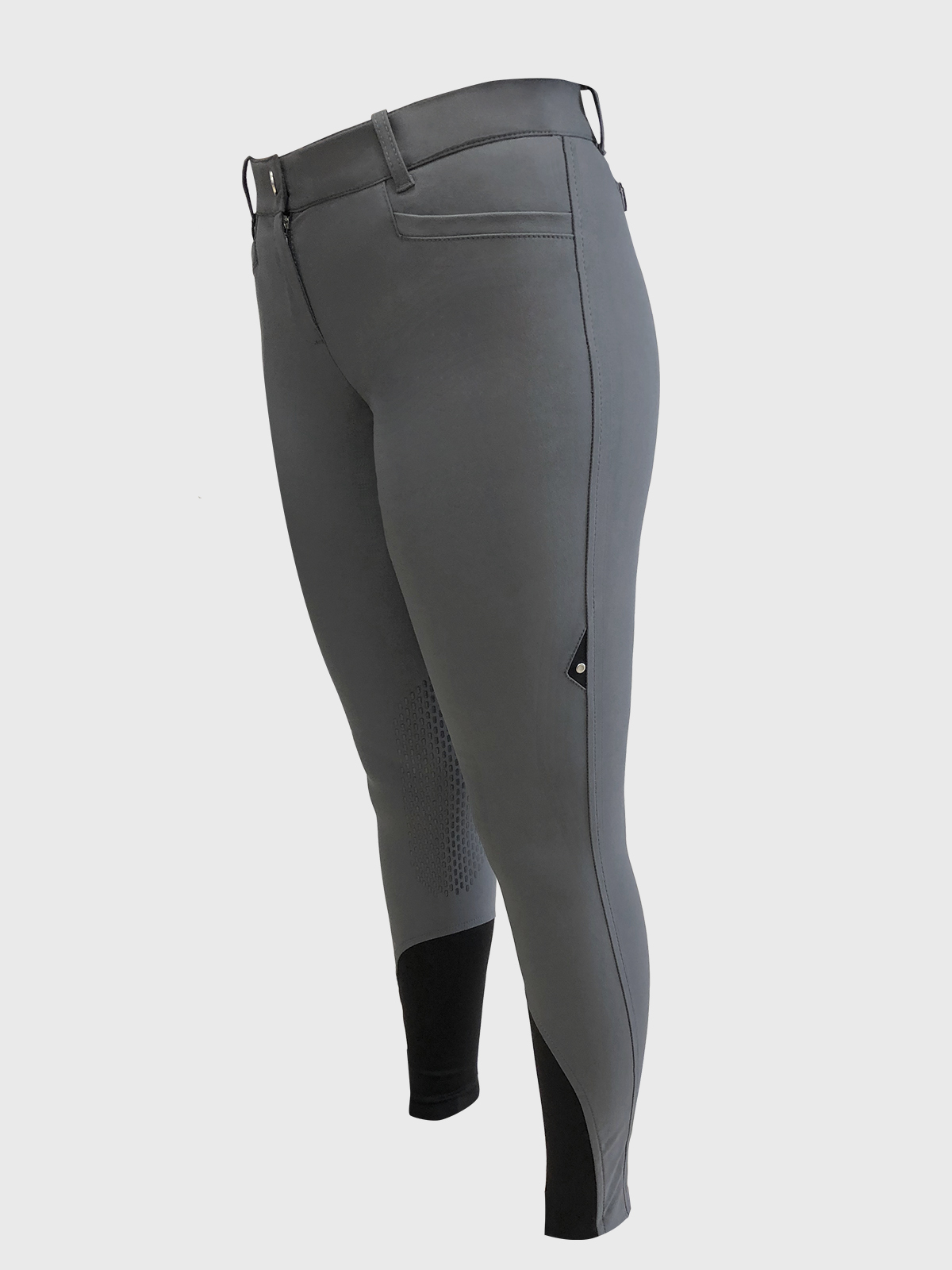 ASH Women's Riding Breeches with x-grip Knee Patch 5