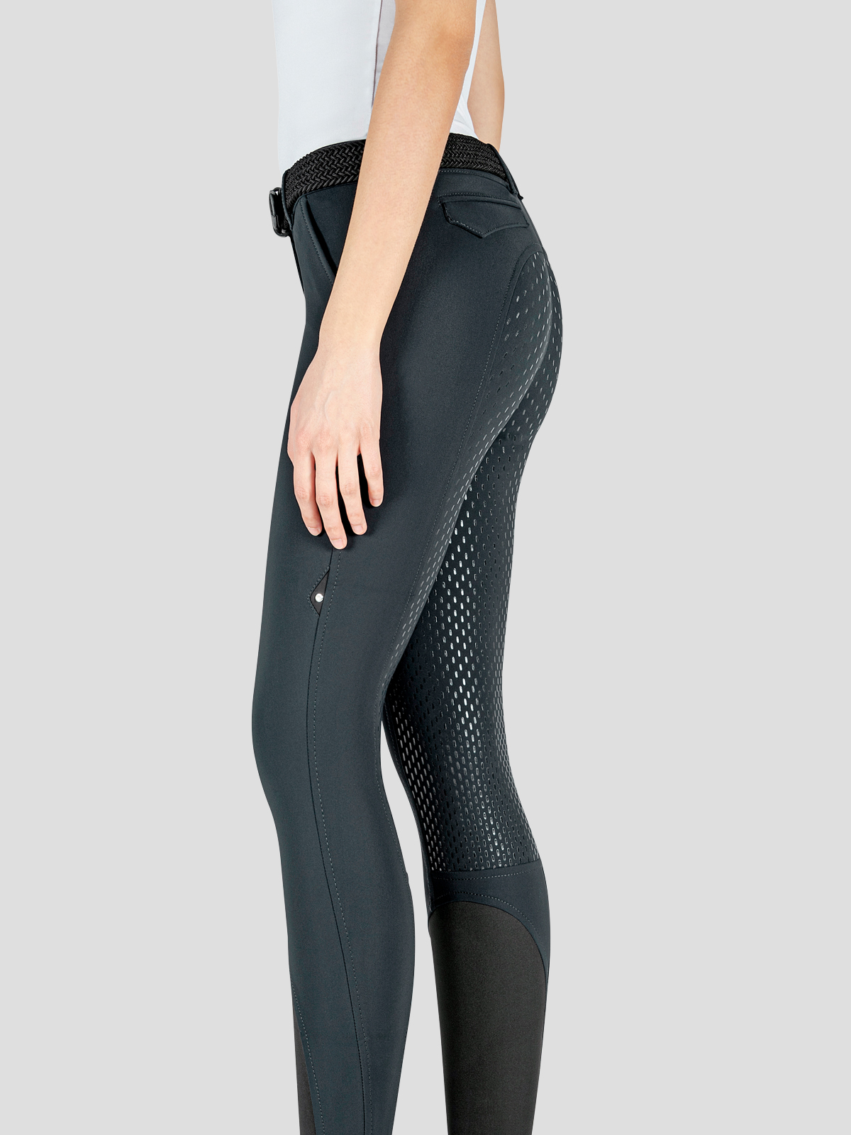 JULIK WOMEN'S FULL GRIP RIDING BREECHES IN B-MOVE FABRIC 8