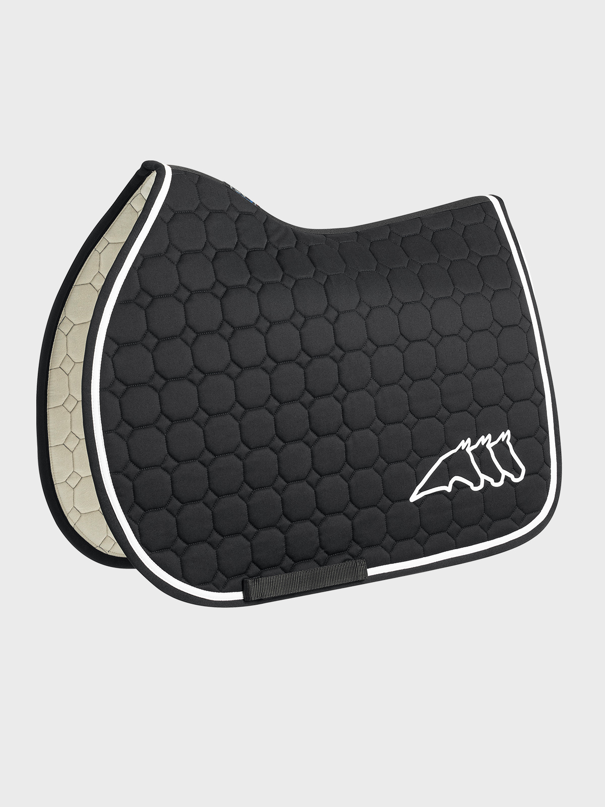 Cristophec OCTAGON QUILTED SADDLE PAD 2