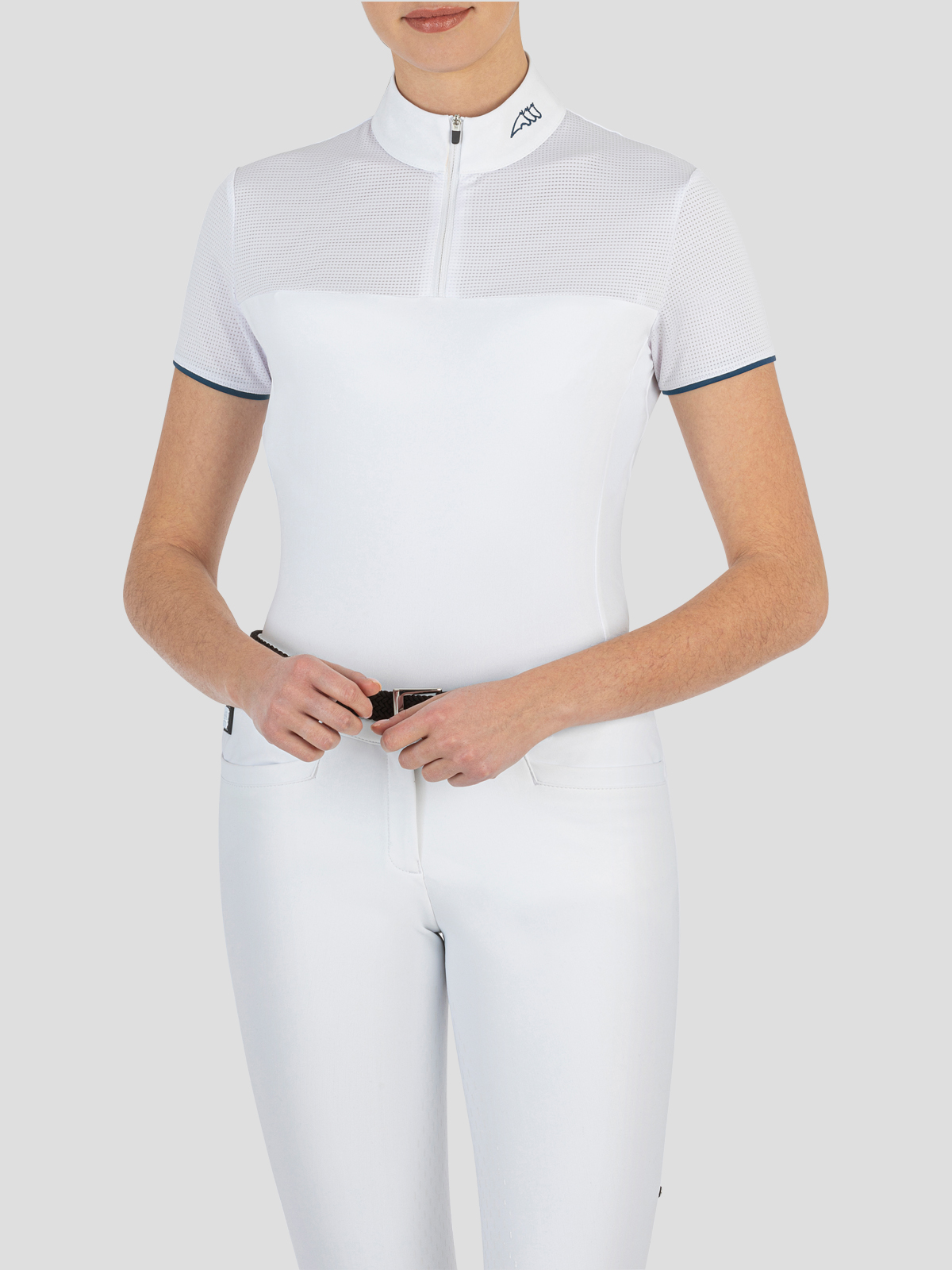 CORDA C WOMEN'S SHOW SHIRT WITH SHORT SLEEVES AND ZIP 5