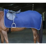 Riding World Navy Fleece Exercise Rug
