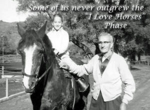 "Is Life Getting In The Way Or Was It Just An ""I Love Horses"" Phase?"